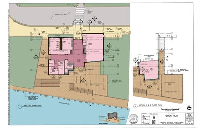 New Patchogue Ferry Terminal floor plan.