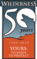 1964-2014 Wilderness Act 50th Anniversary logo