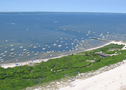 2005 Aerial of Barrett Beach