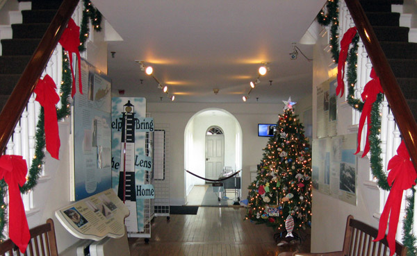 Fire Island Lighthouse Holiday Decorations
