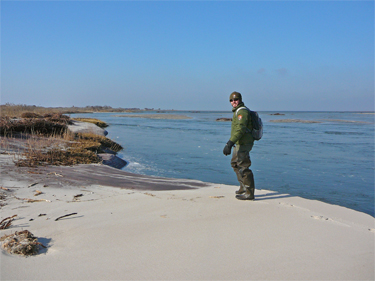 Join a ranger for a hike to the breach at Old Inlet.