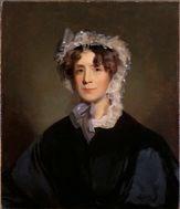 painted portrait of Martha Jefferson Randolph