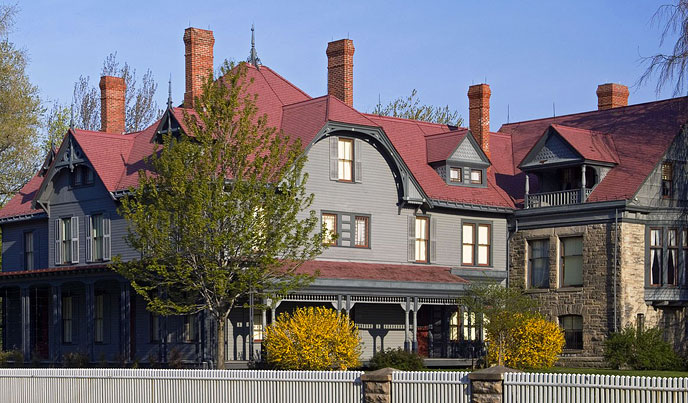 Presidential homes u s national park service for National house builders