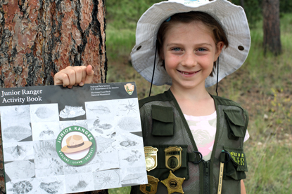 Junior Ranger, Brooke Ashbridge
