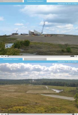 Flight 93 NMEM Webcams