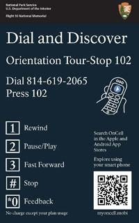 Sign - Cell Phone Tour Stop