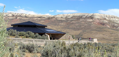 Fossil Butte visitor center
