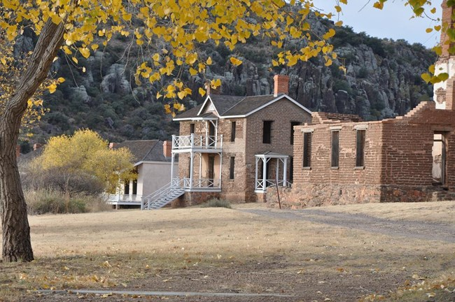 Fall at Fort Davis