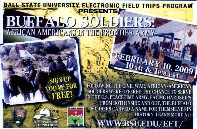 Ball State Online Field Trip - Buffalo Soldiers