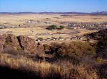 View of Fort Davis from one of the walking trails.