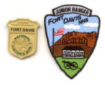 Picture of Jr. Ranger badge and patch.