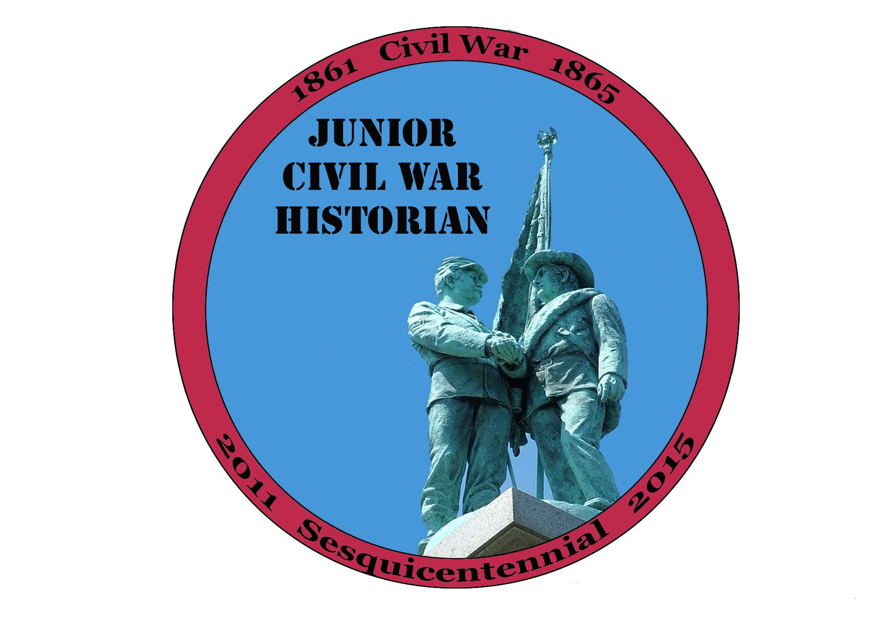 Junior Civil War Historian patch, an exciting way to mark the 150th anniversary of the Civil War.