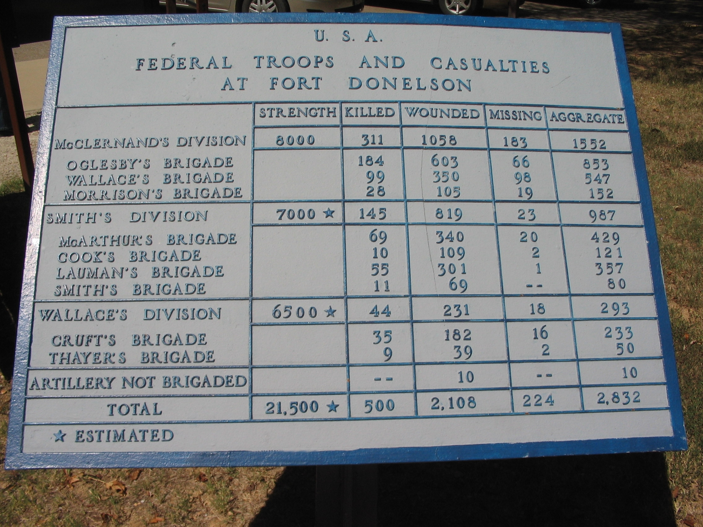 USA War Dept tablet