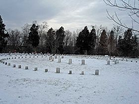 Fort Donelson National Cemetery February 2011