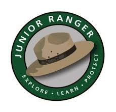 green circle with park ranger hat inside