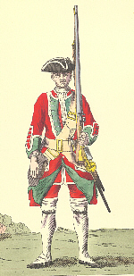 Soldier of the old 42nd Regiment of Foot