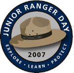jr. ranger day logo