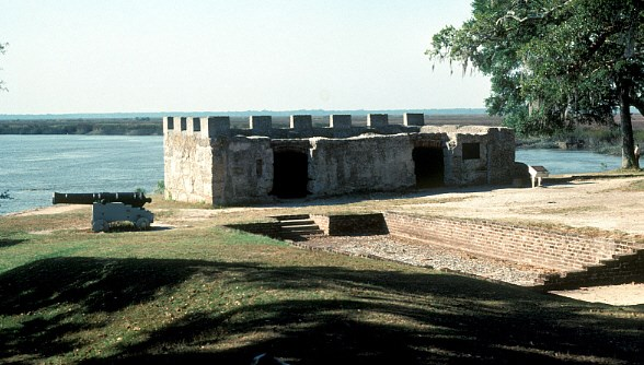King's Magazine at Fort Frederica