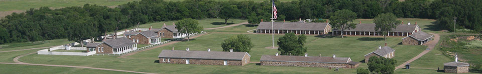 Aerial View of Fort Larned