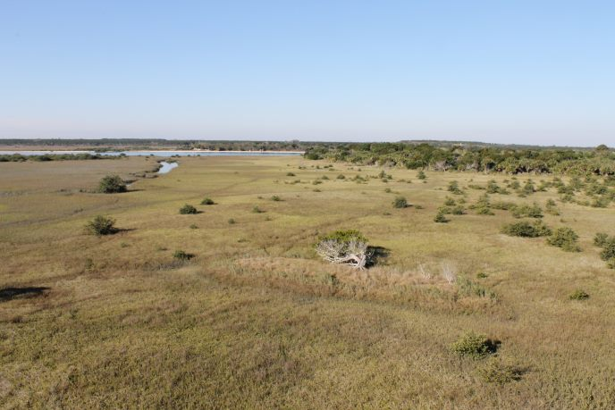 Scenic Vista from the Top of Ft. Matanzas
