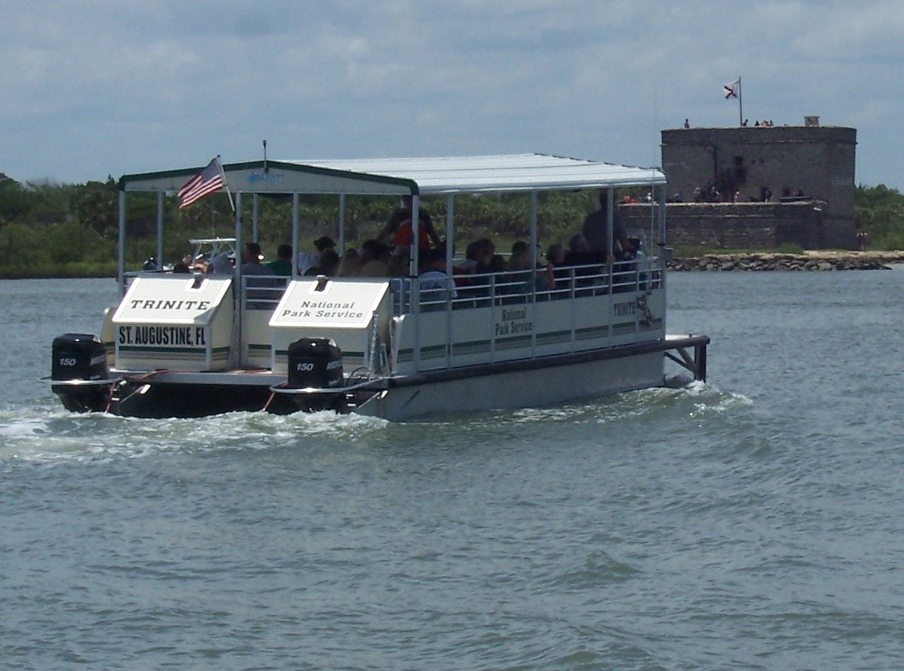 Passenger Ferry to Fort Matanzas