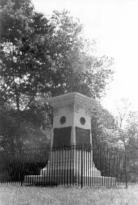 Monument at Braddock's Grave