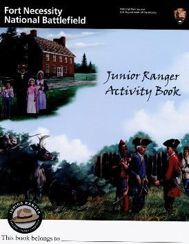Cover of Fort Necessity Junior Ranger booklet