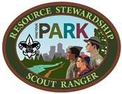 Patch of scouts with the words Scout Ranger
