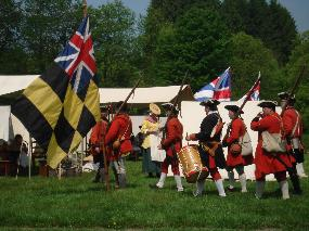 Maryland Forces encampment