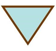 A blank Triangle patch