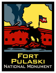 Visit the Fort Pulaski Bookstores run by Eastern National!