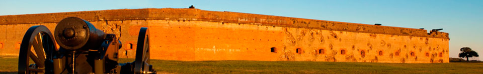 The Battle Scarred Walls of Fort Pulaski