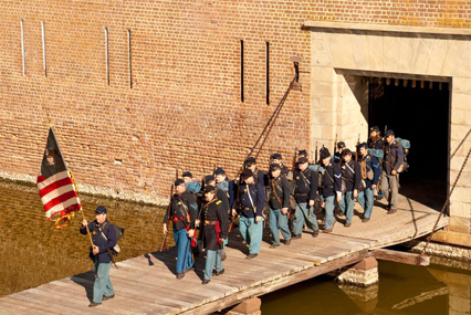 The 48th NY Infantry at Fort Pulaski