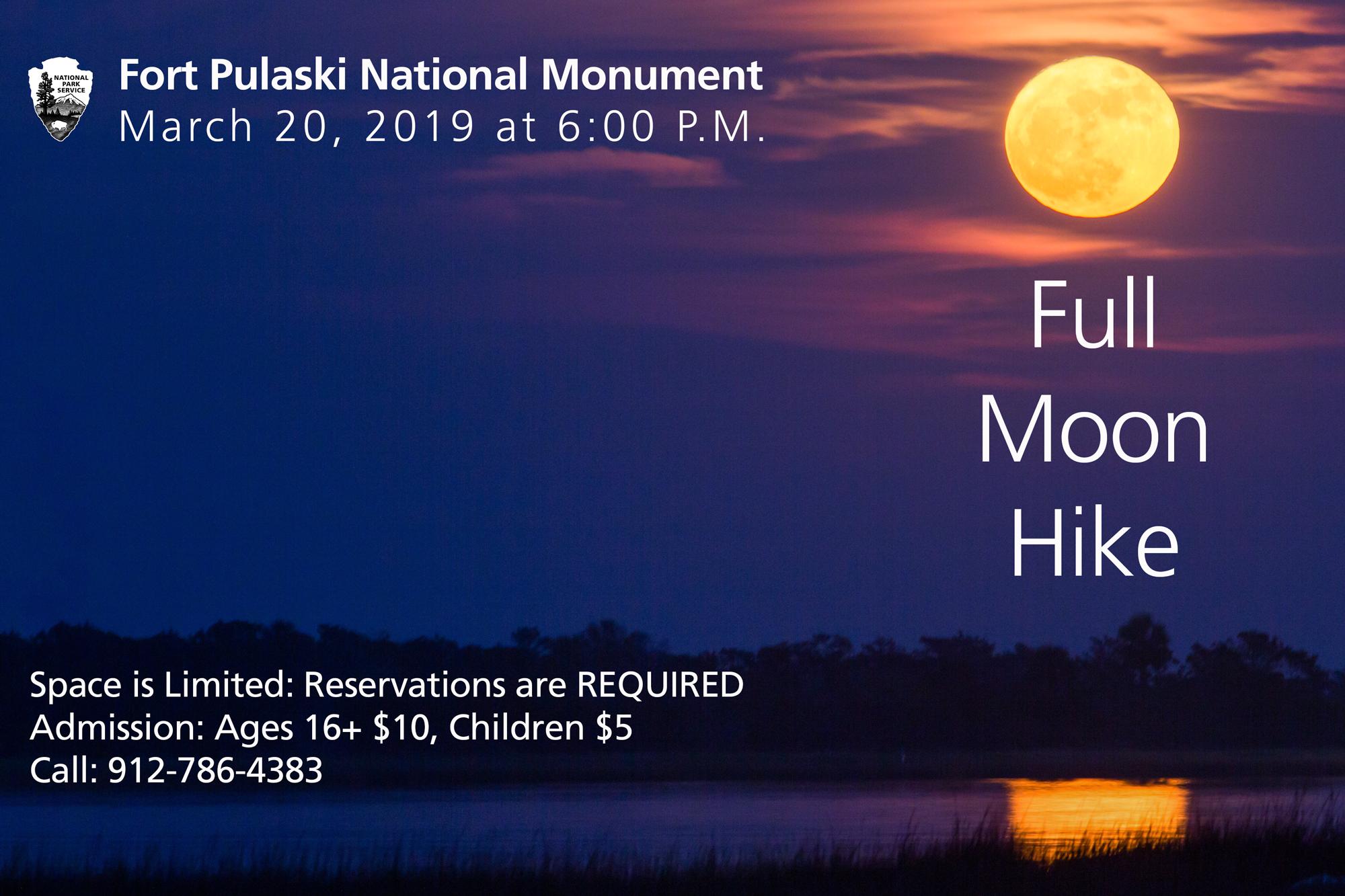 Take a Full Moon Hike at Fort Pulaski - Fort Pulaski