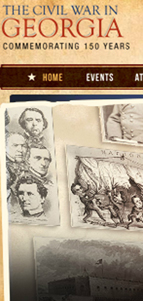 Georgia Civil War Website