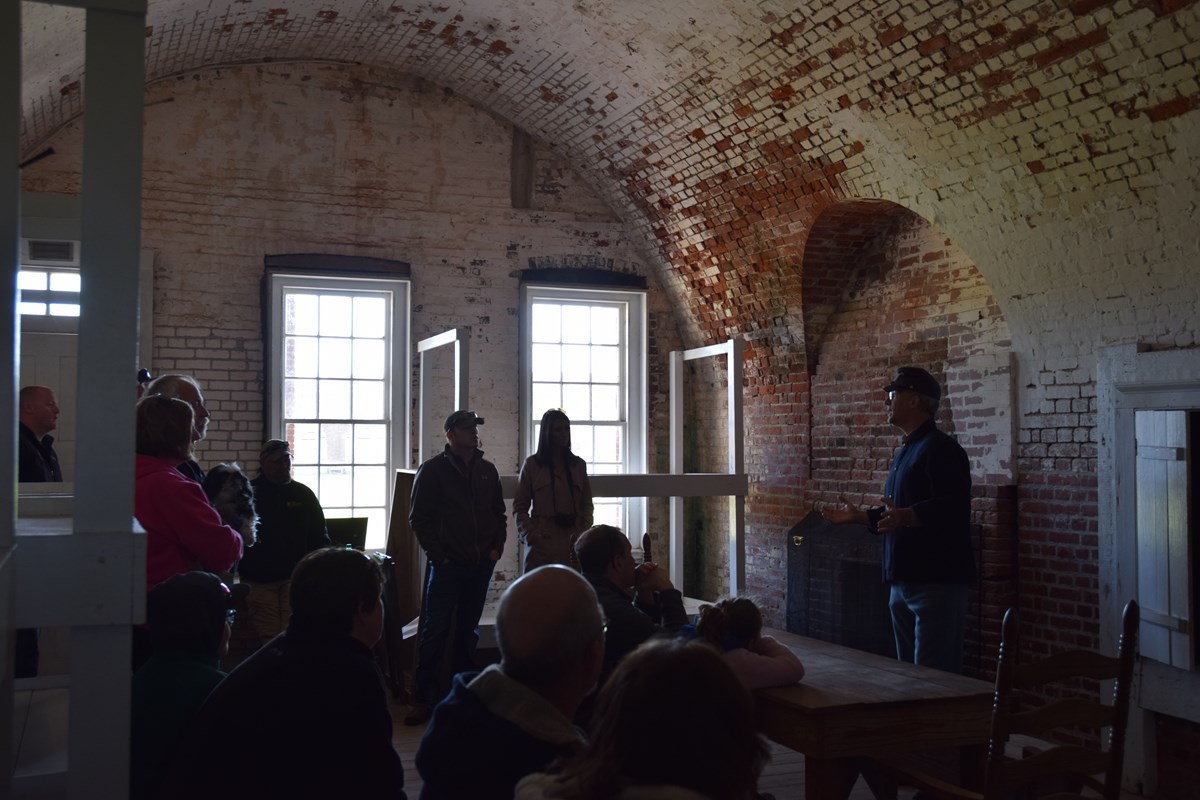 Learn more about Fort Pulaski through Ranger led tours.