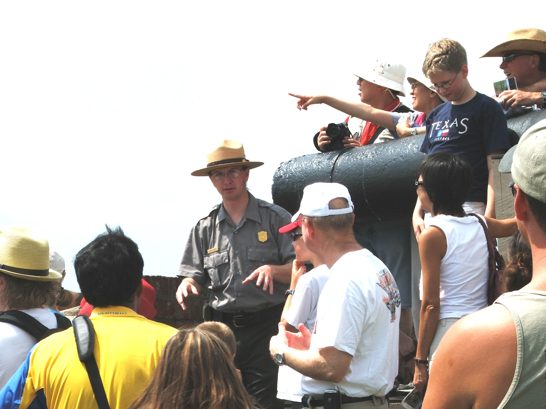 Guided tour at Fort Pulaski