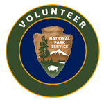 NPS Volunteer badge