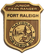 Fort Raleigh Junior Ranger Badge