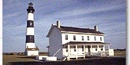 The Bodie Island Lighthouse at Cape Hatteras National Seashore
