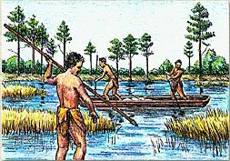 Indian Fishing and Hunting - Fort Raleigh National Historic Site
