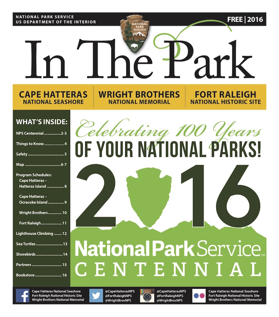 In the Park 2016 cover