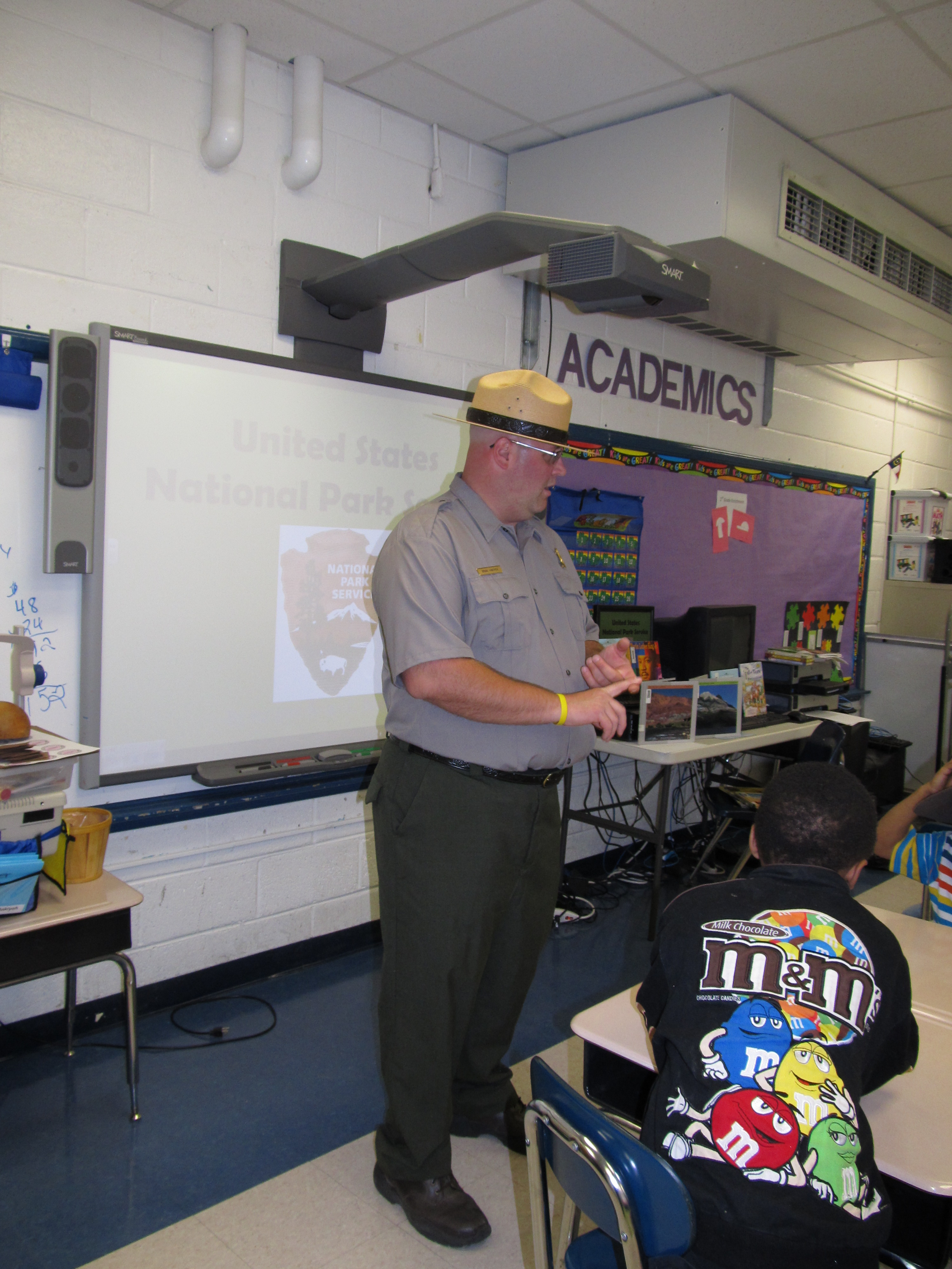 Teacher Ranger Teacher Brian Mayhew