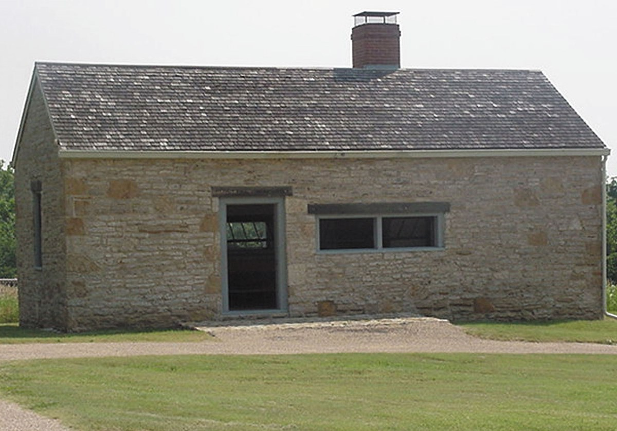 Bakehouse at Fort Scott