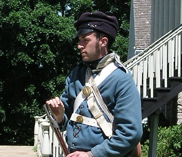 Infantry Soldier at Fort Scott