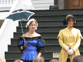 Officers' Wives at Fort Scott