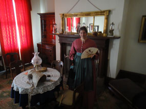 Officers' Wife inside Parlor