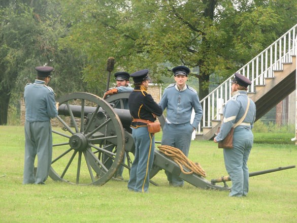 Artillery Crew at Fort Scott