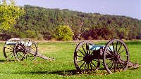 Field Guns at Wilson's Creek