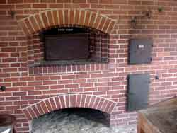Wood Fired Oven with Fire box